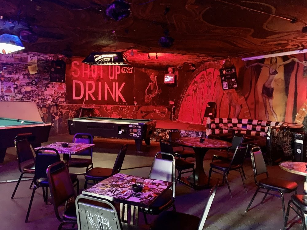 Photo of Double Down Saloon - Las Vegas, NV, United States. Stage for free live music