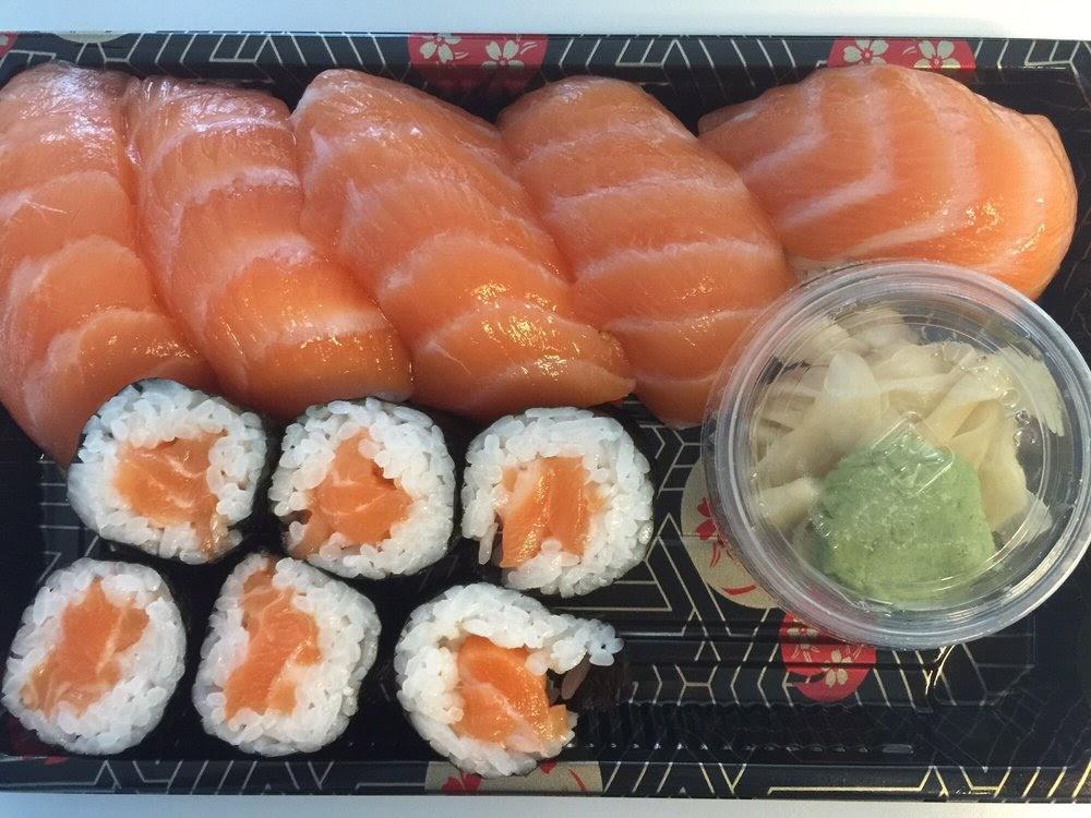 Photo of Sushi Kudasai - Seattle, WA, United States. Salmon Platter