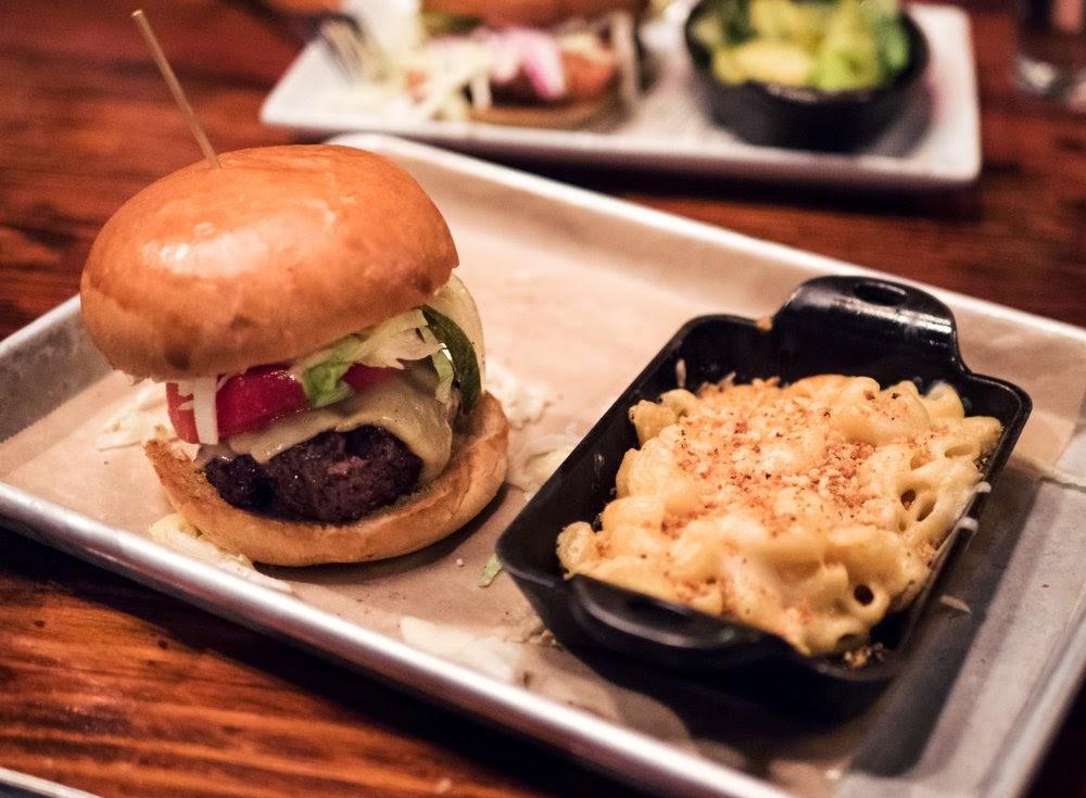 "Photo of Wrecking Bar Brewpub - Atlanta, GA, United States. ""Wrecking Bar Burger"" - Wrecking Bar Brewpu"