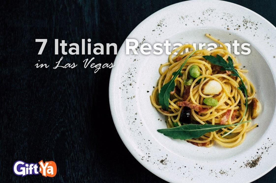 7 Italian Restaurants
