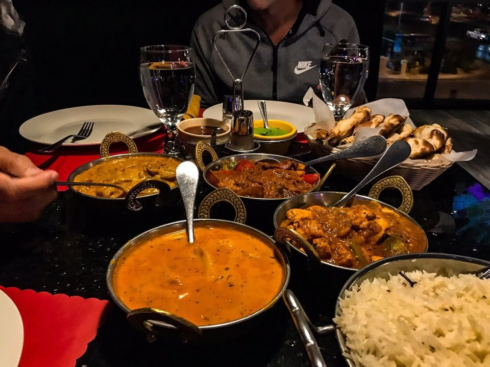 Photo of Pure Indian Cuisine - Las Vegas, NV, United States. All this delicious food I can't tell you the name of it cause I don't know how to spell it or it's pronunciation lol