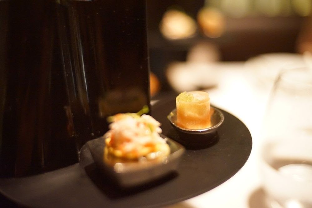 Photo of Le Bernardin - New York, NY, United States. Amuse-Bouche