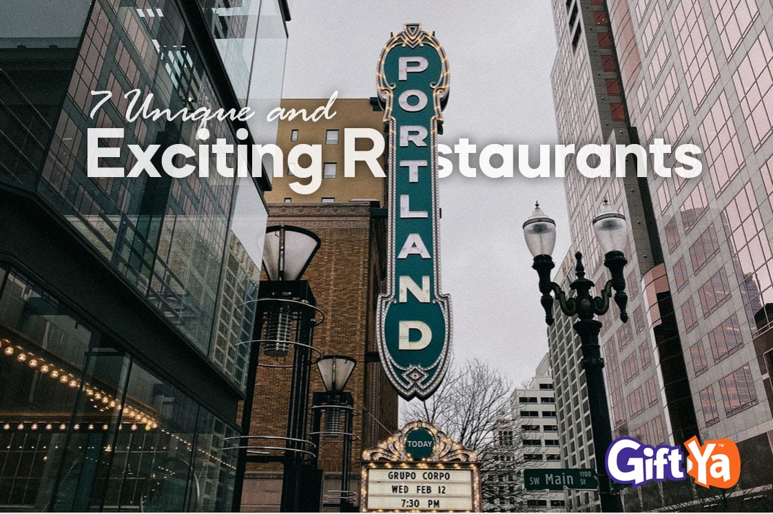 Unique Restaurants in Portland