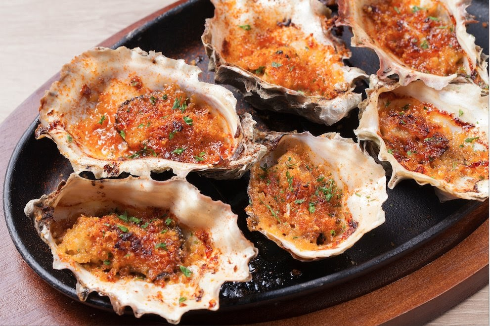 Photo of Submarine Crab - San Diego, CA, United States. Grilled Oysters