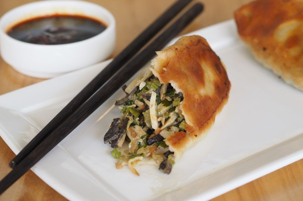 Photo of China Live - San Francisco, CA, United States. Dongbei Vegetarian Long Pot Stickers