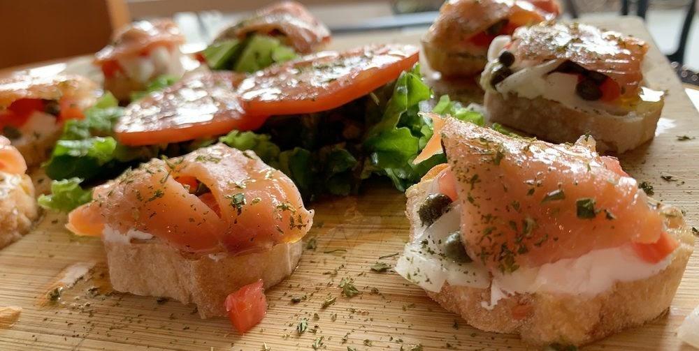 Photo of Le Cafe De Paris - Orlando, FL, United States. Smoked salmon for 2