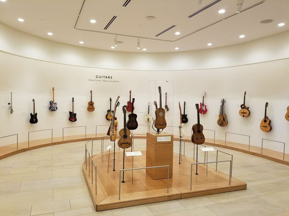Photo of Musical Instrument Museum - Phoenix, AZ, United States. Guitars from all over the world
