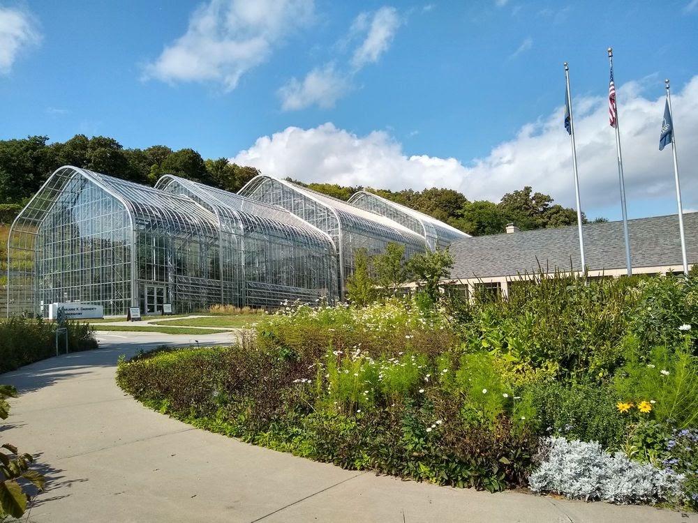 Photo of Lauritzen Gardens - Omaha, NE, United States. Entrance