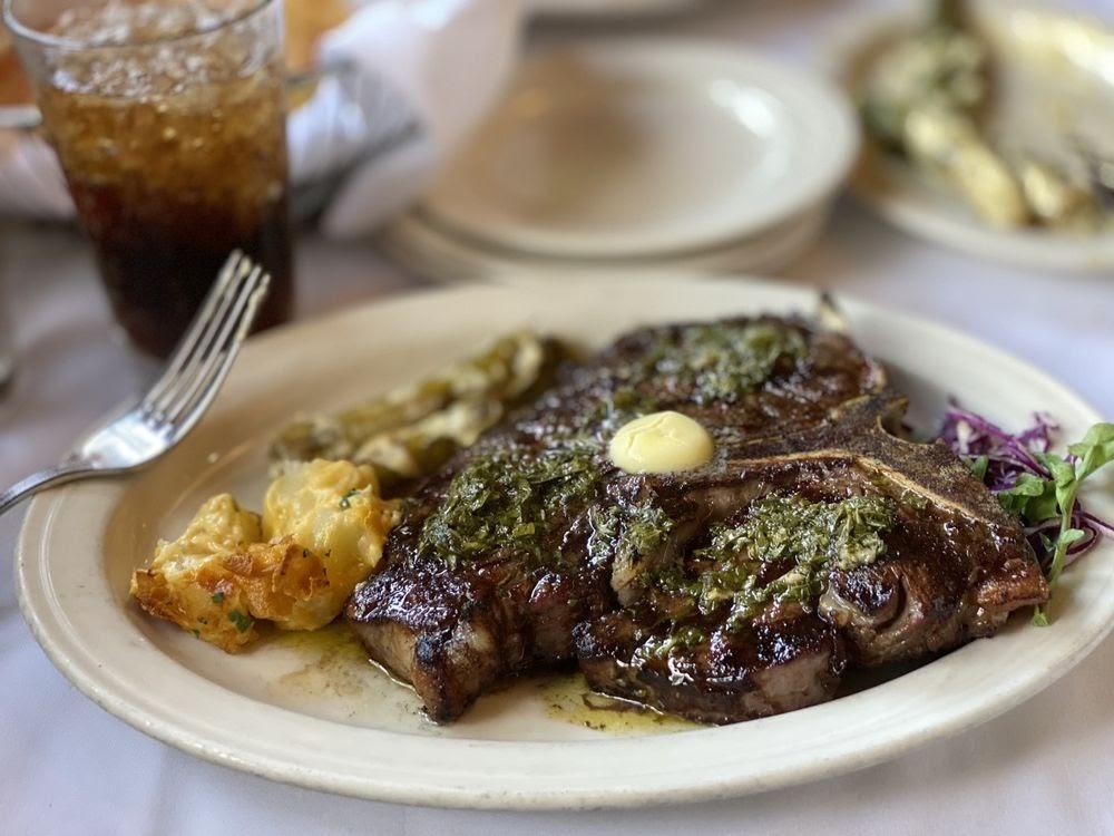 Photo of Charley's Steak House - Tampa, FL, United States. Porterhouse rules!