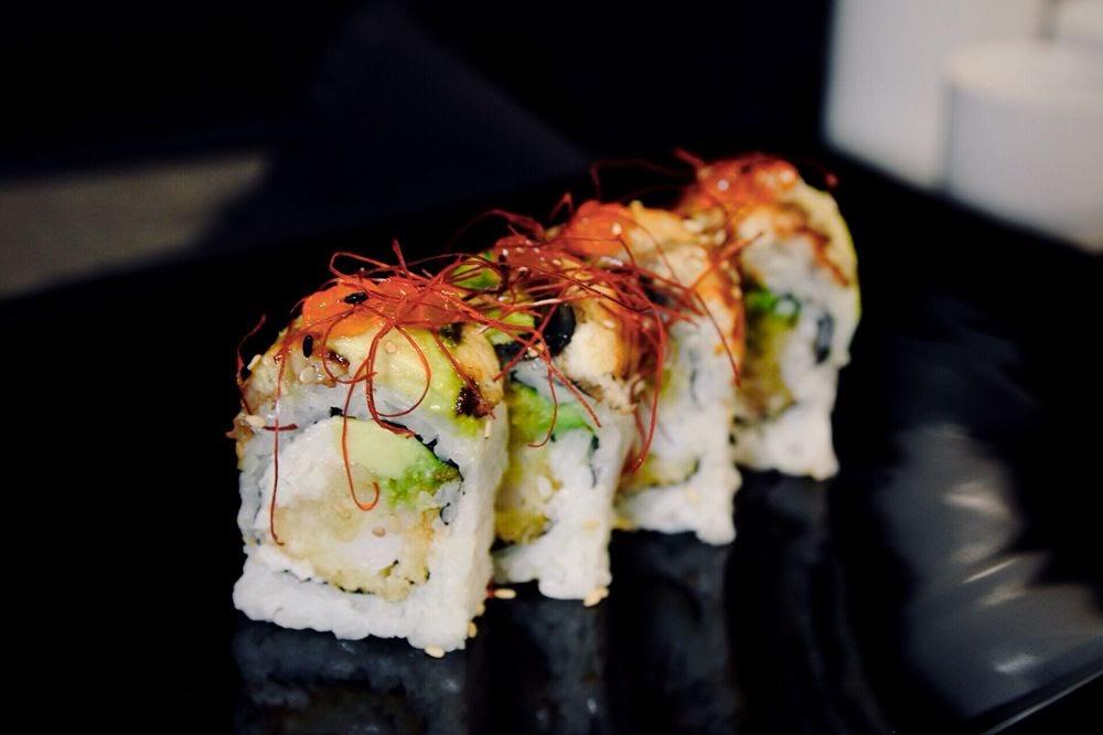 Photo of Ta-Ke Sushi and Grill - Orlando, FL, United States. DragonBallz Roll