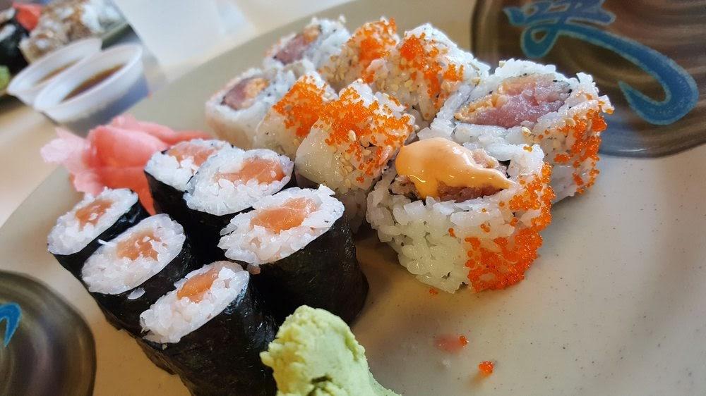 Photo of Sushiology - Orlando, FL, United States. Salmon and kamikaze