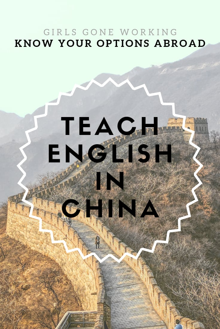 Teach English abroad in China