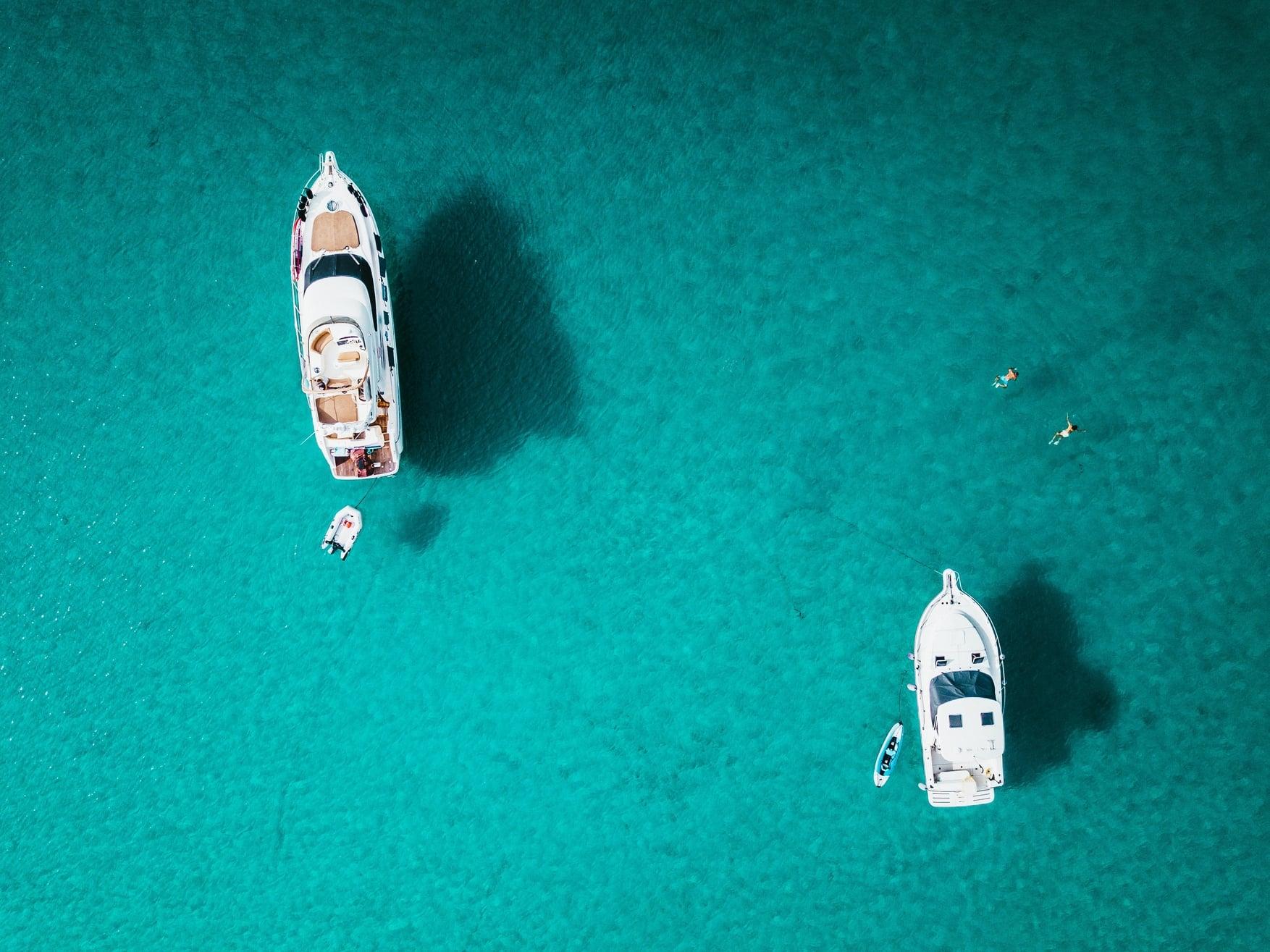 Work aboard a yacht