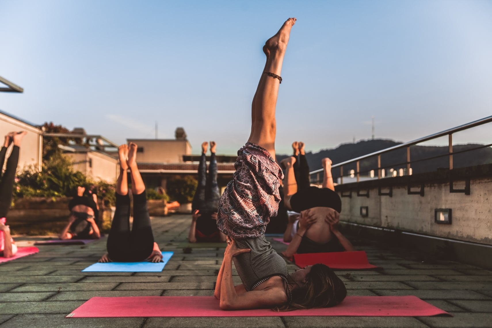 Work abroad as a yoga instructor