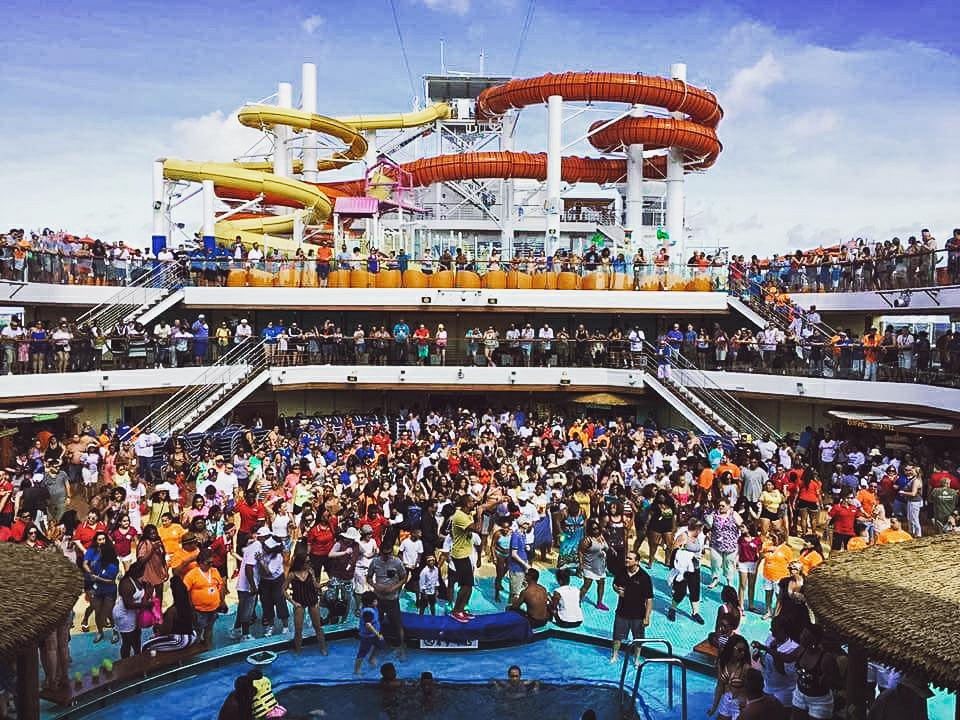 Work aboard a cruise ship