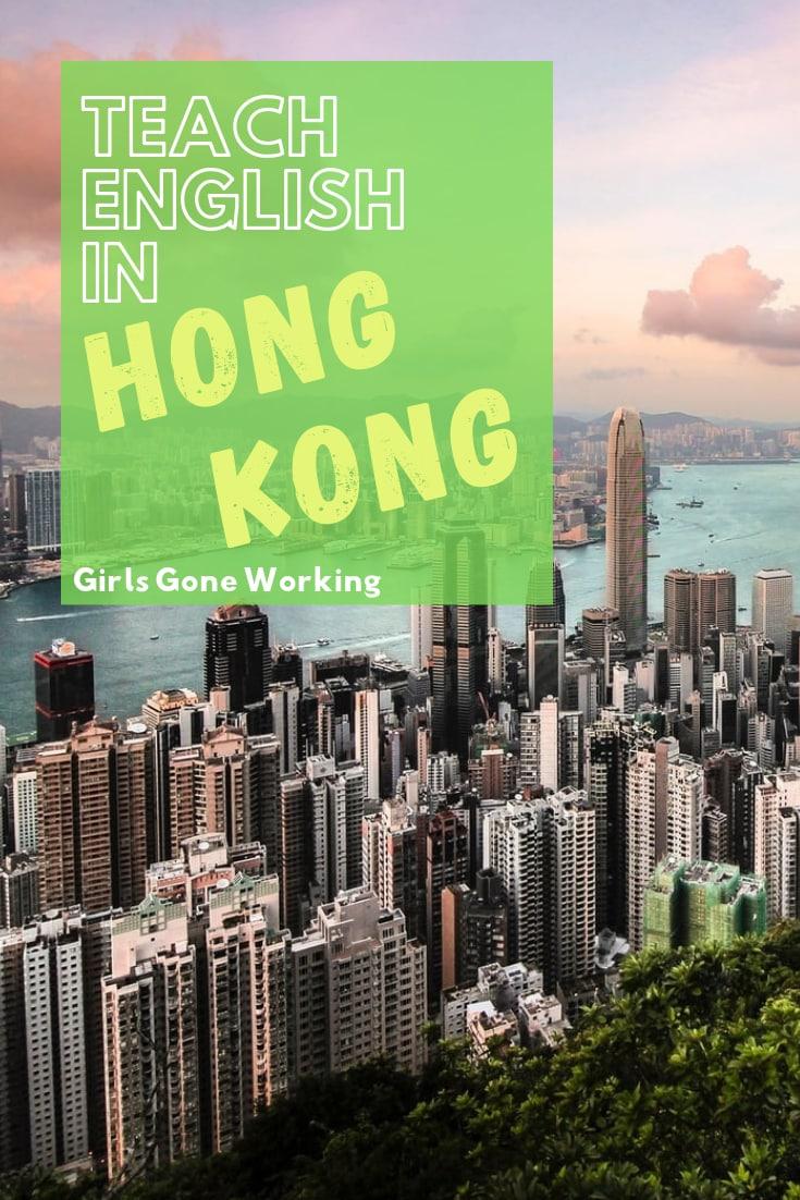 Teach English in Hong Kong