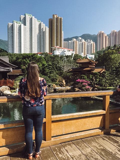 Hong King mix of urban and natural