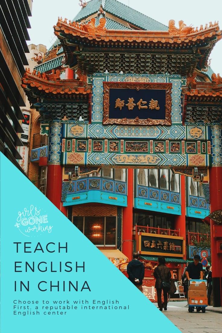 Teach English with English First EF