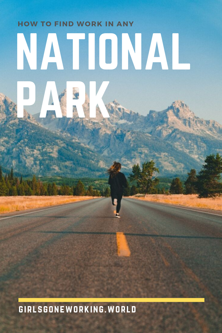 Work in a national park