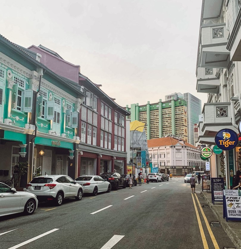the colorful houses of Joo Chiat, Singapore