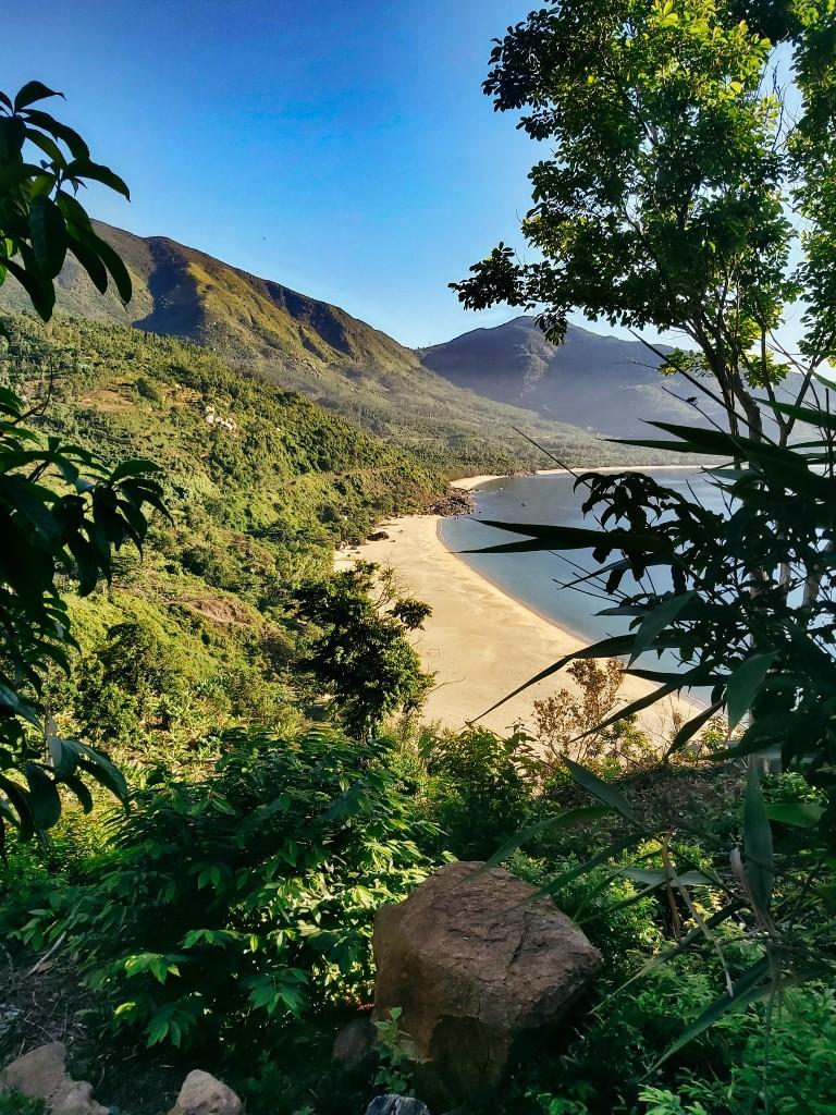 A secret beach off the Hai Van Pass outside of Da Nang, Vietnam