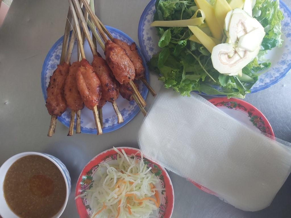 bbq pork skewers in vietnam