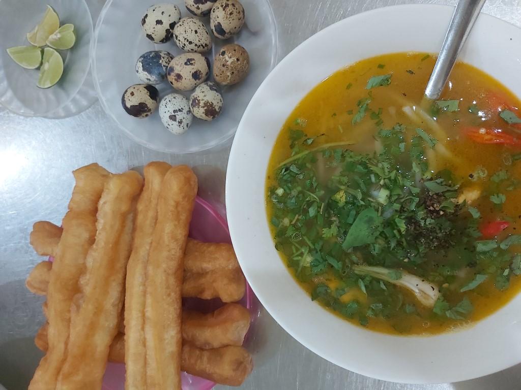 tapioca broth soup in vietnam
