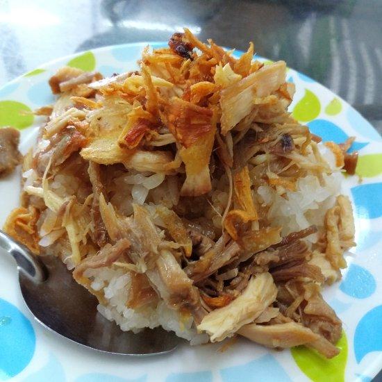 a close up image of Vietnamese sticky rice