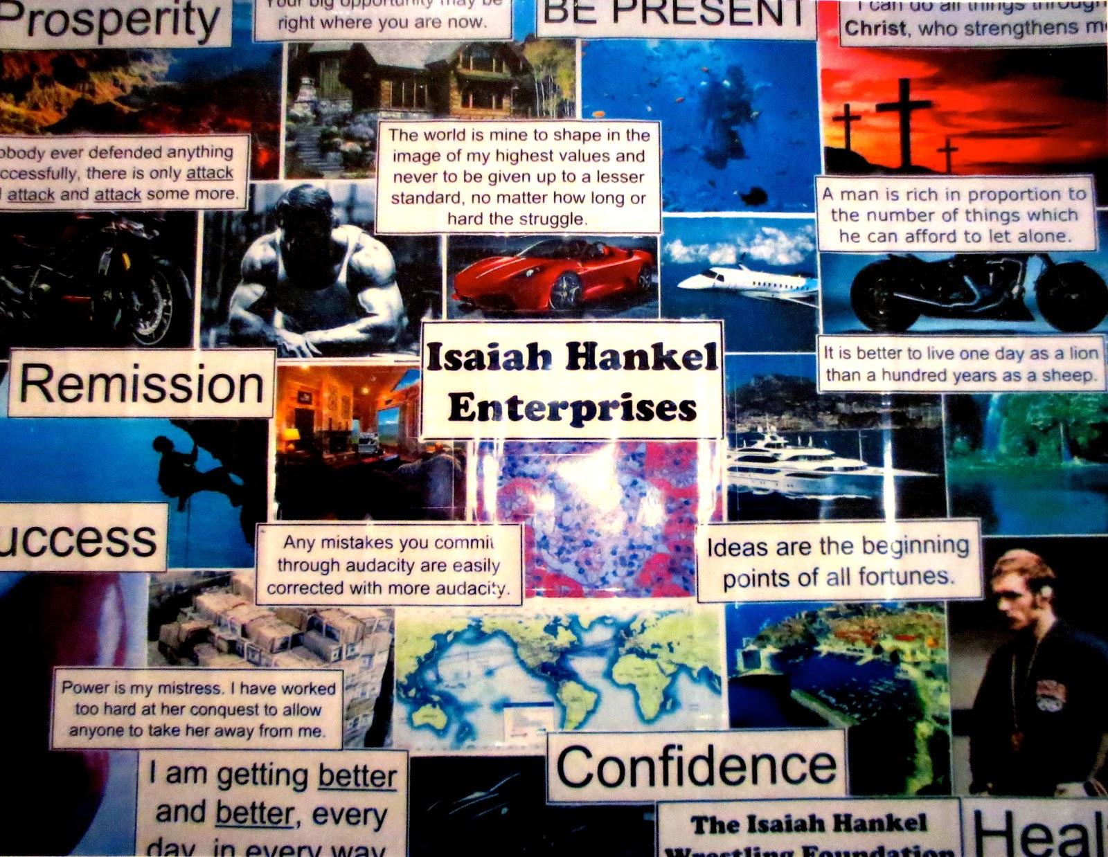 Image result for vision board isaiah hankel