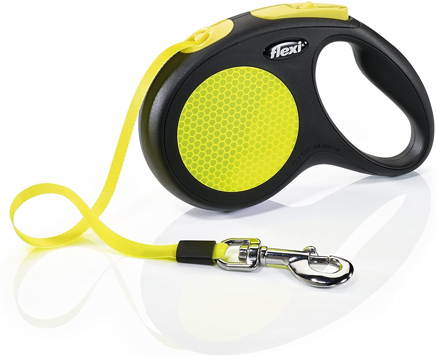 Flexi Neon Retractable Tape Leash