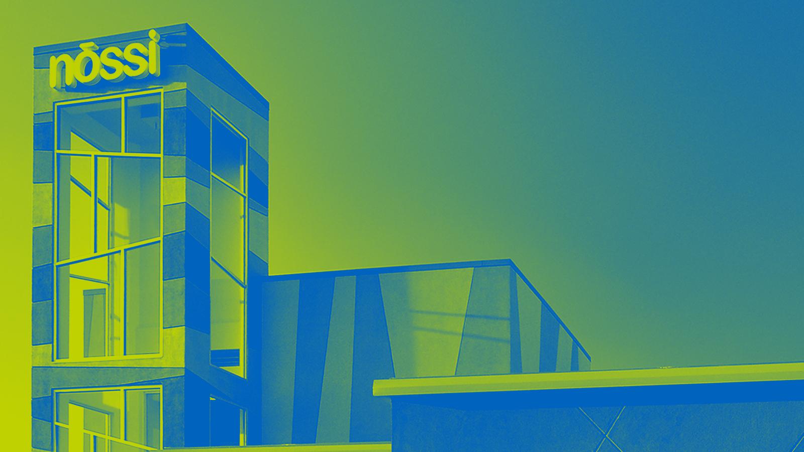 Nossi College of Art campus photo for their website design by Ben FIeker