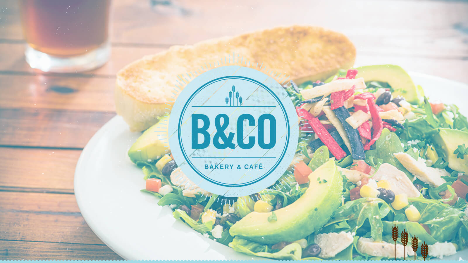 Bread and Company Bakery & Cafe feature photo for their website design by Ben Fieker