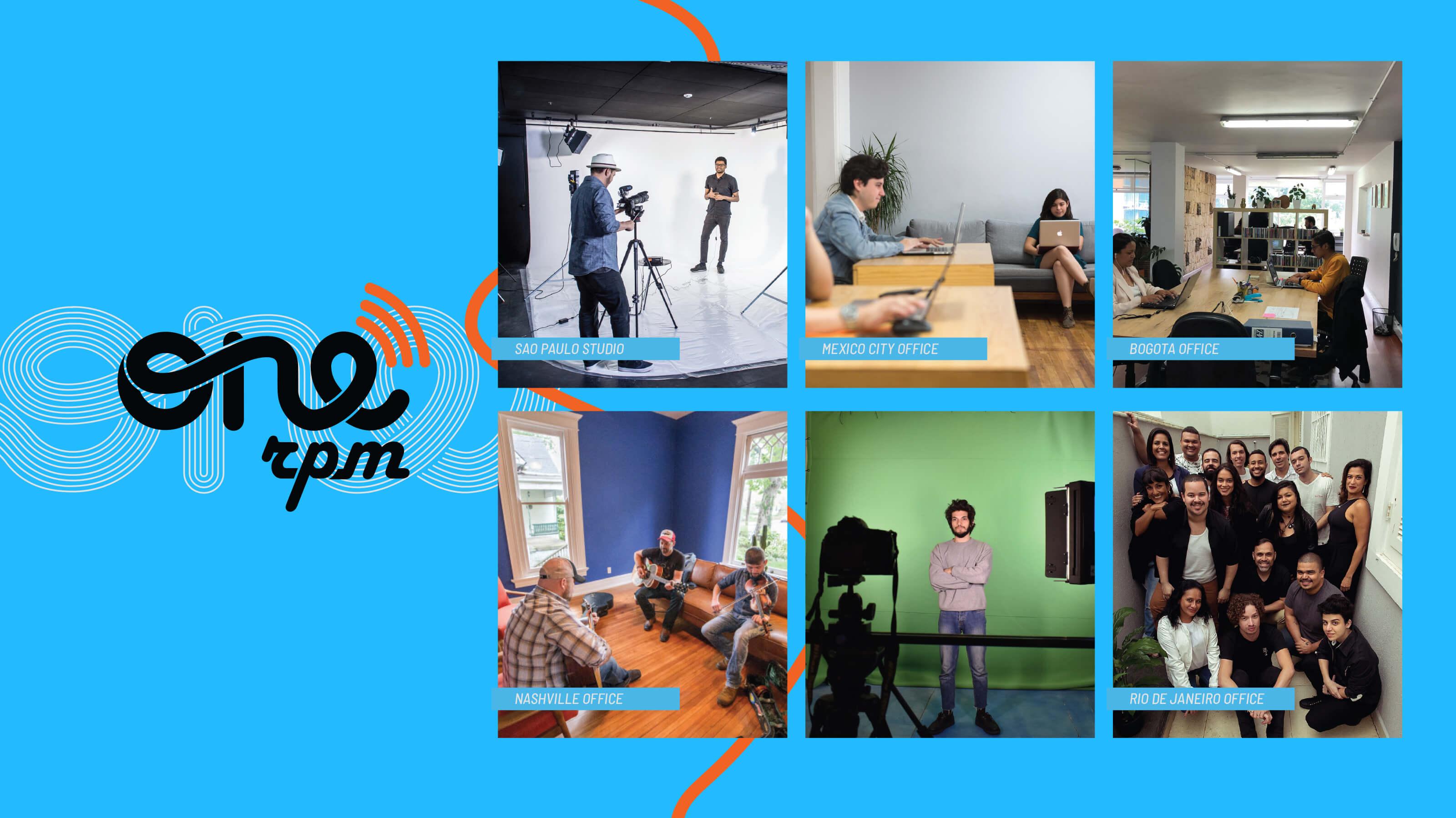 ONErpm locations for media kit by Ben Fieker's Fieker Brothers website