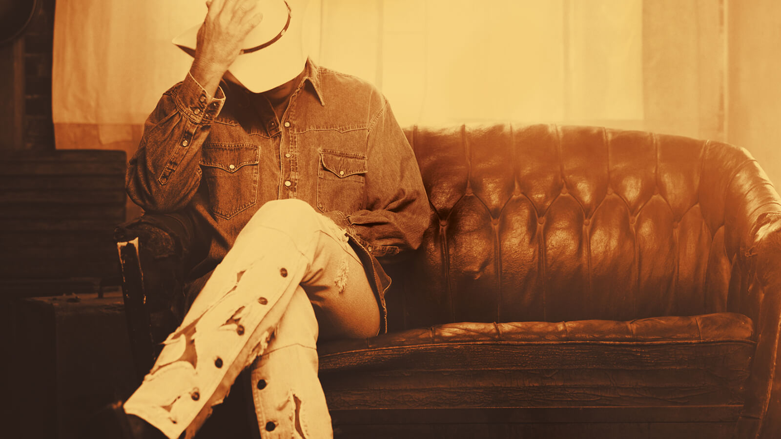 Back cover photo of Alan Jackson for 25th Anniversary
