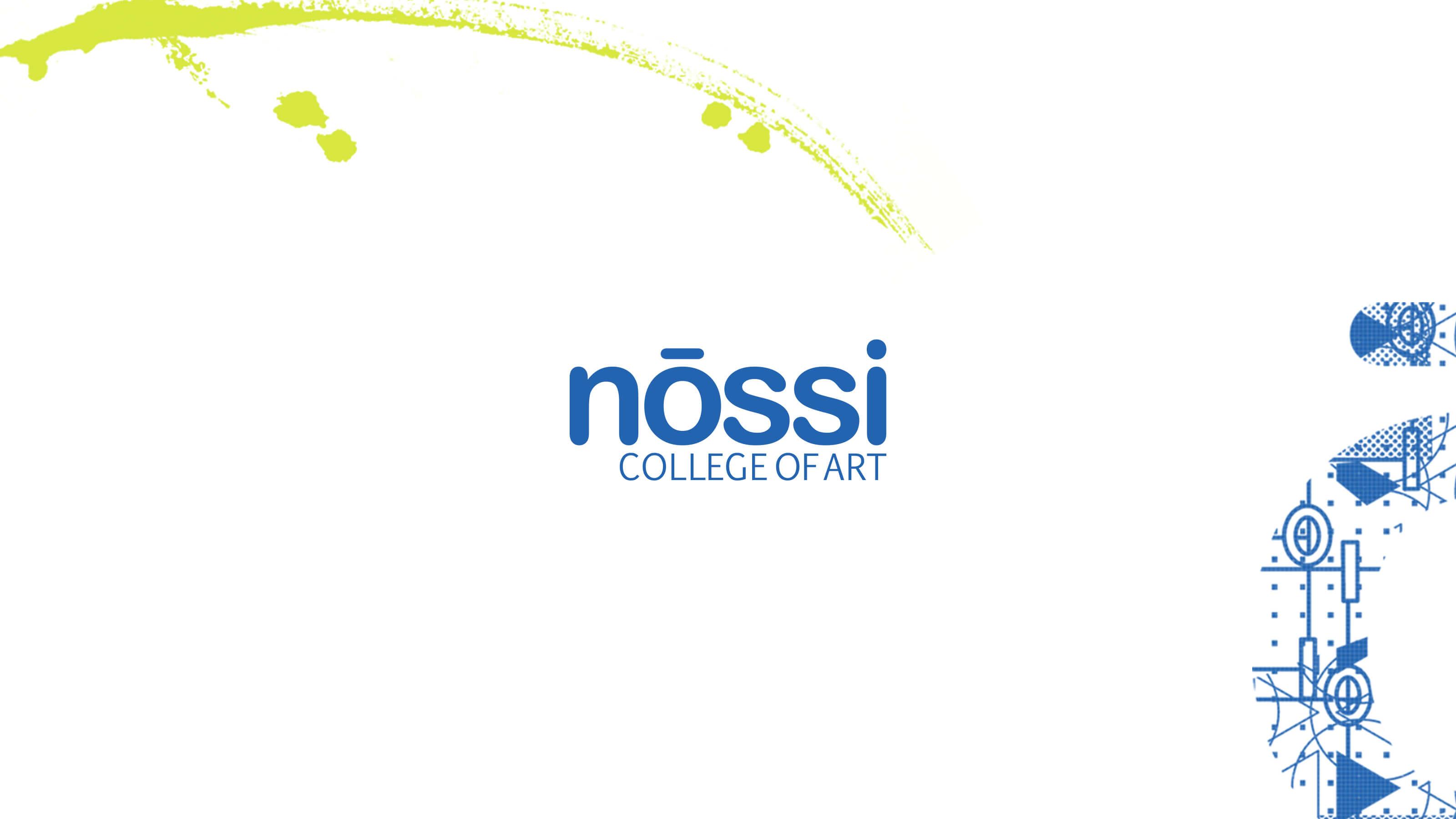 Nossi College of Art design elements for Ben Fieker's Fieker Brothers Website