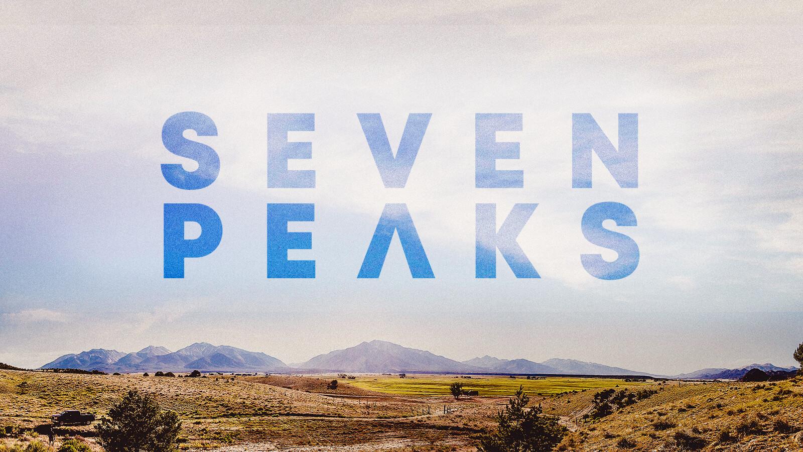 Live Nation & Dierks Bentley's Seven Peaks festival website design by Ben Fieker