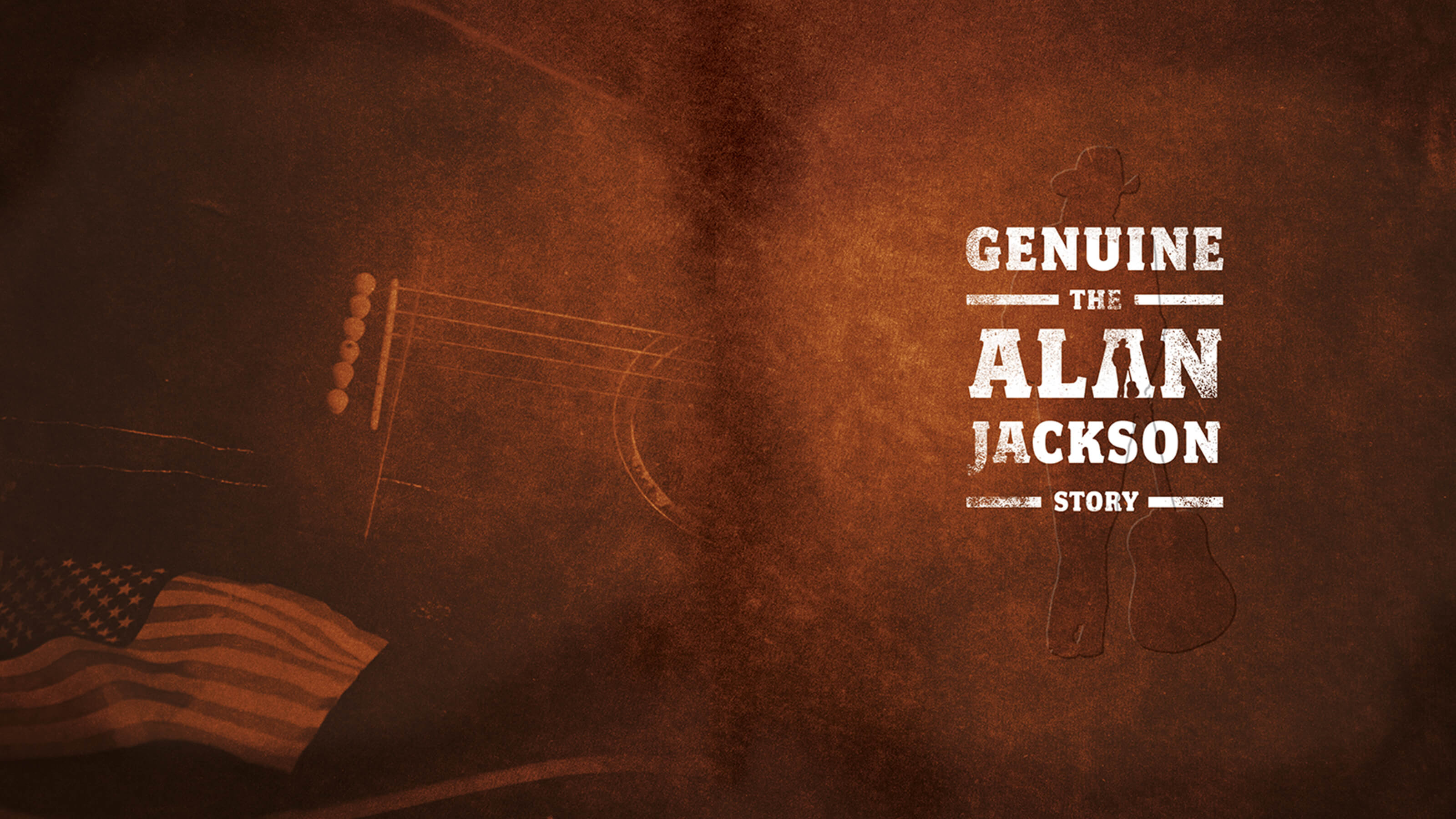 Alan Jackson Genuine the Alan Jackson Story thumbmail for Fieker Brothers Alan Jackson package design