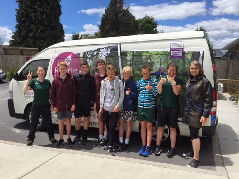 YiA Winners' $1,000 Adventure to Rotorua