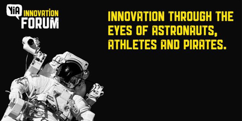 YiA Forum 2017: Innovation Through the Eyes of Athletes, Astronauts and Pirates