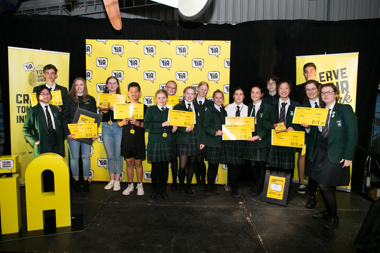Award winners of YiA 2020