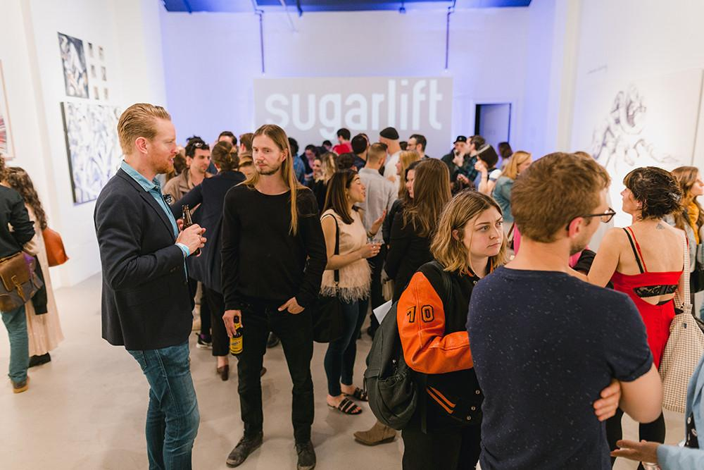 Painting, Art, Party, Sugarlift, Open Studios, New York City, Event, Artwork, Braven Brewing