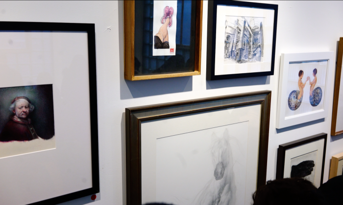 Epoch Times interview with Wright Harvey of Sugarlift surrounding the Sketchbook exhibit
