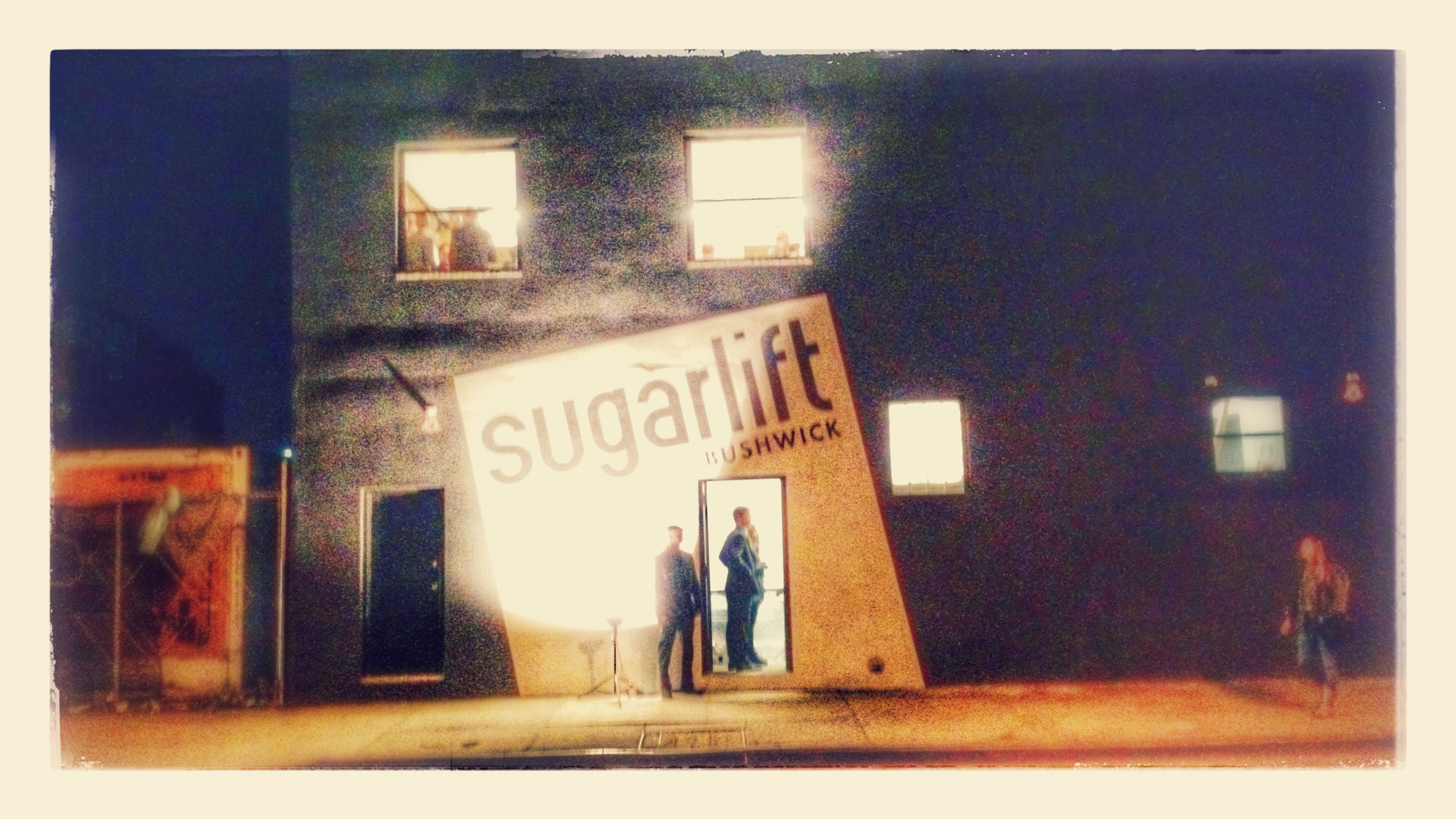 Sugarlift on the night of its opening party in New York