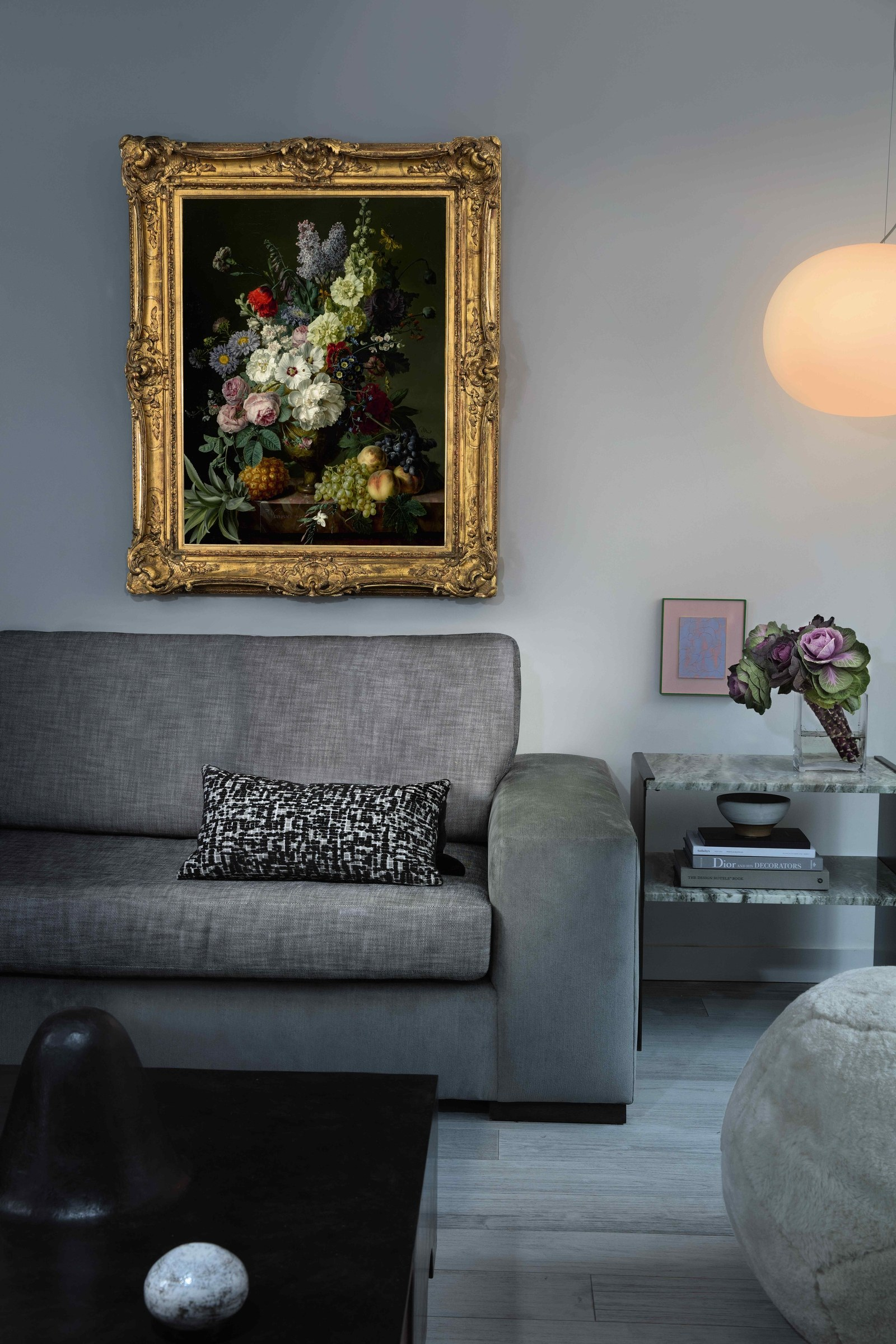 Old Masters' art in a home designed by an interior designer who was connected to Sotheby's by Wright Harvey of Sugarlift