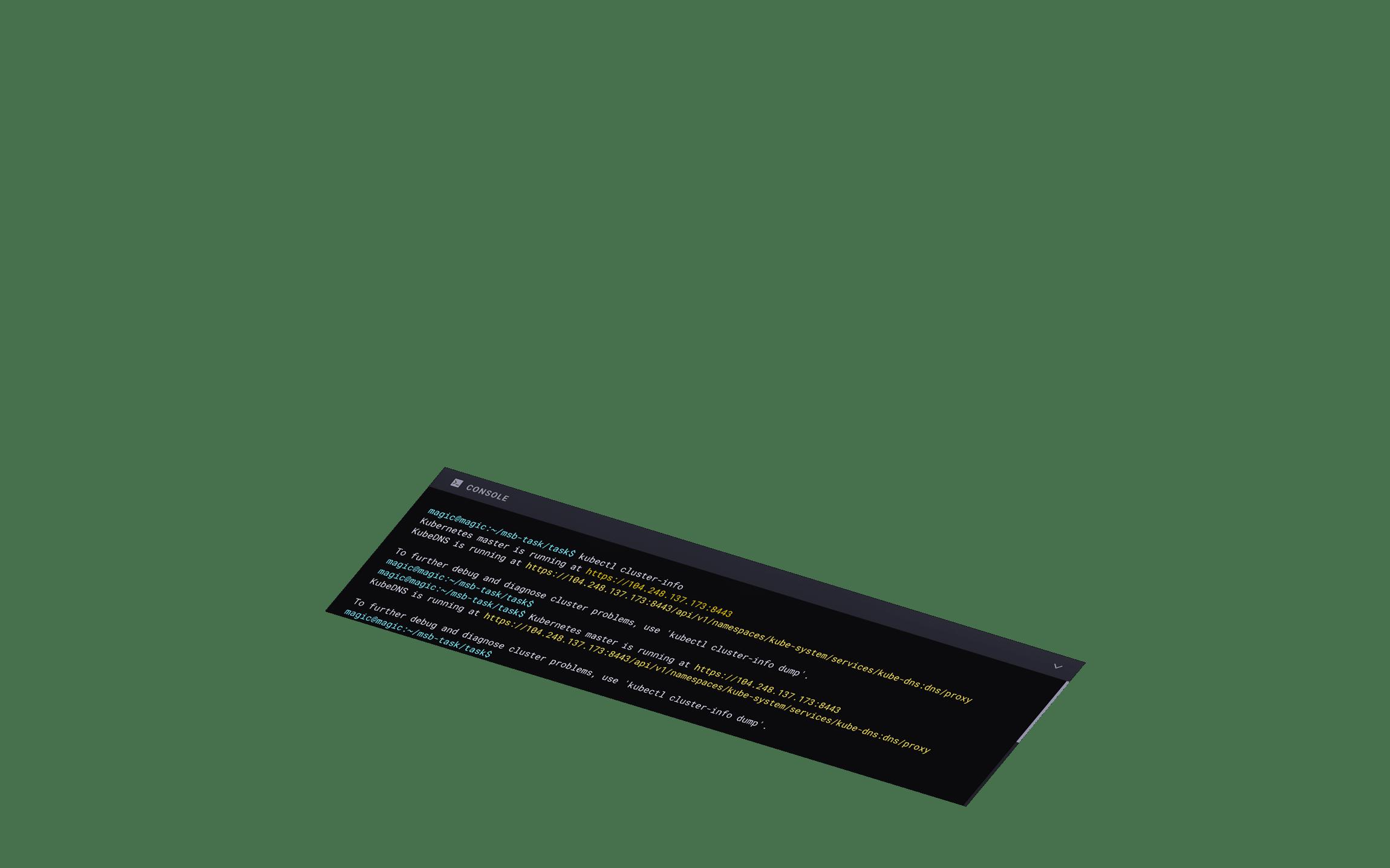 Live Console