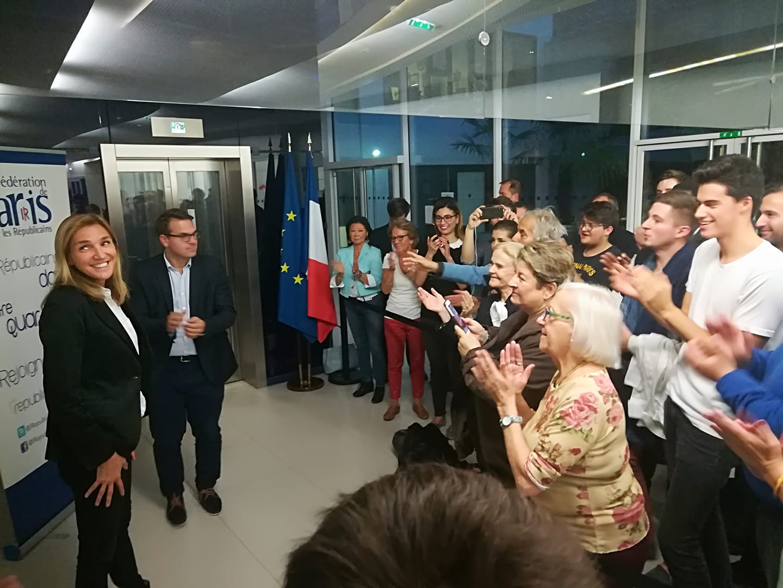 Agnès Evren élue Présidente de la Fédération !