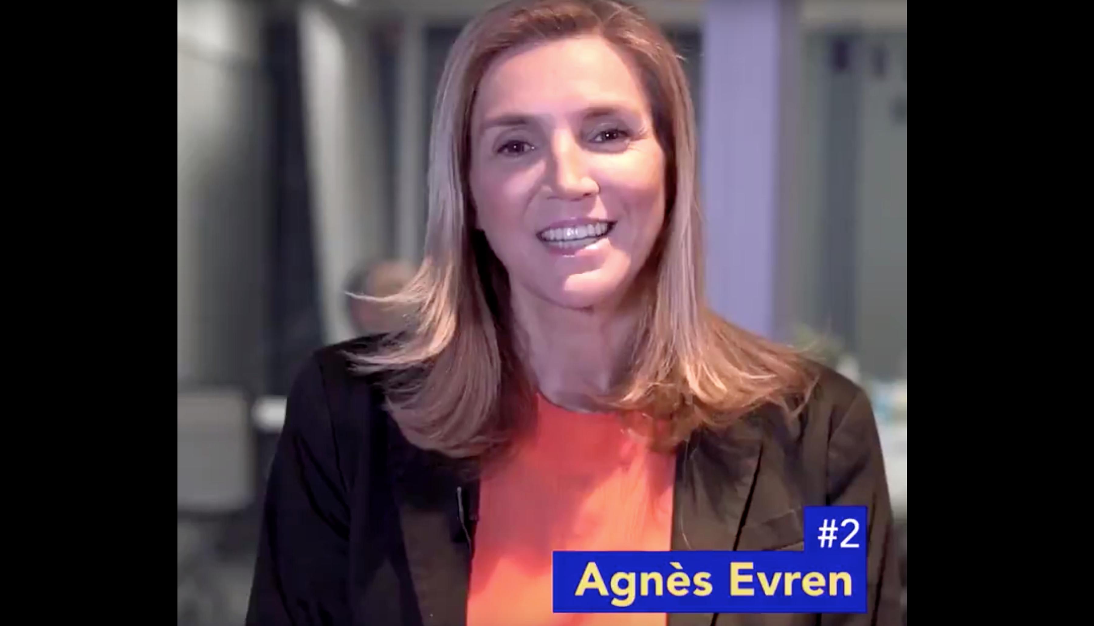 Vidéo de présentation d'Agnès Evren, numéro 2 de la liste LR aux élections européennes