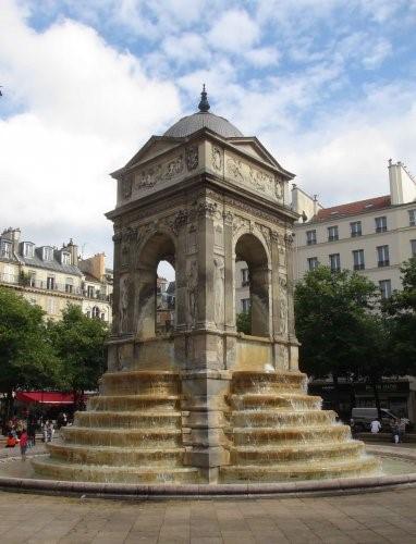 La misère des fontaines parisiennes