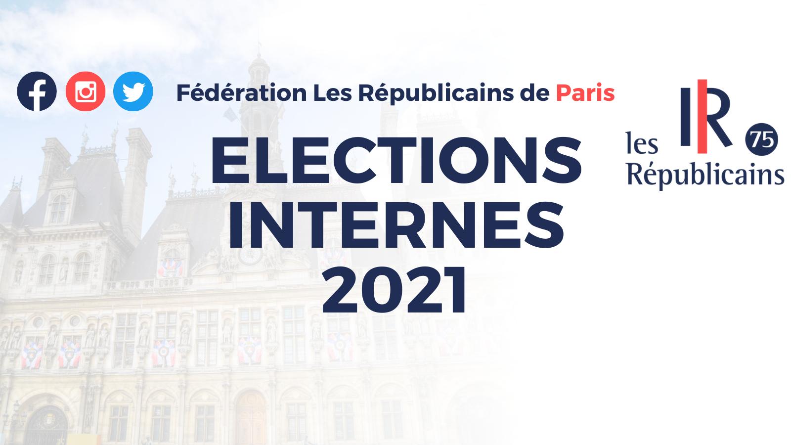 Élections internes 2021 : Les candidats à Paris