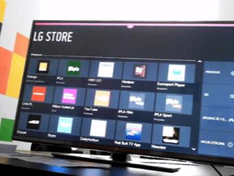 zdjęcie widoku ekranu smart tv